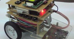 آموزش ساخت ربات مسیریاب پروژه های دکتر علیزاده