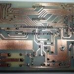 دماسنج با نمایشگر و شیفت رجیستر 74HC595