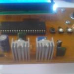 کنترل استپ موتور با LCD
