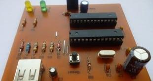 کیبورد بی سیم USB بدون درایور سخت افزاری پروژه های دکتر علیزاده