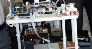 ربات مین یاب پروژه های دکتر علیزاده