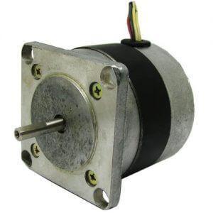 کنترل استپ موتور