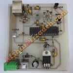 دماسنج با قابلیت اتصال به کامپیوتر پروژه های دکتر علیزاده