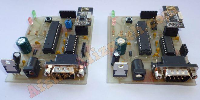 ارسال و دریافت اطلاعات با ماژول NRF24L01