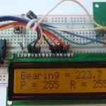 راه اندازی ماژول قطب نمای CMPS10
