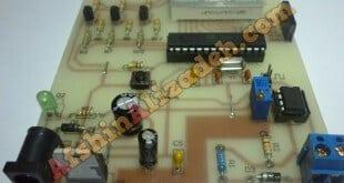 فرکانس متر صنعتی 1 هرتز الی 900 هرتز پروژه های دکتر علیزاده