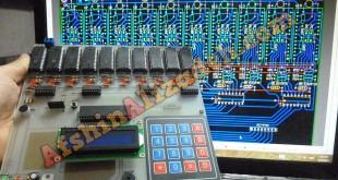 دستگاه ضبط و پخش صدا با آی سی ISD1730