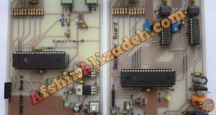 اندازه گیری و ارسال بی سیم میزان ولتاژ و جریان AC