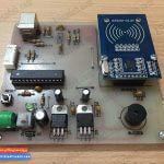 کارتخوان RFID با رابط USB پروژه های دکتر علیزاده